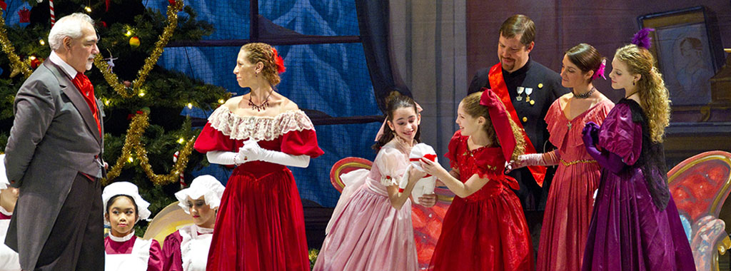 The Rockland Youth Dance Ensemble performs The Nutcracker.
